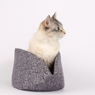 TheCatBall Paisley a Victorian Inspired Cat Bed