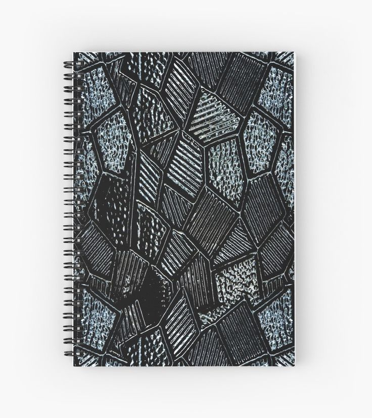 Dark Grey Mosaic Glass l Hardcover Journal also available.