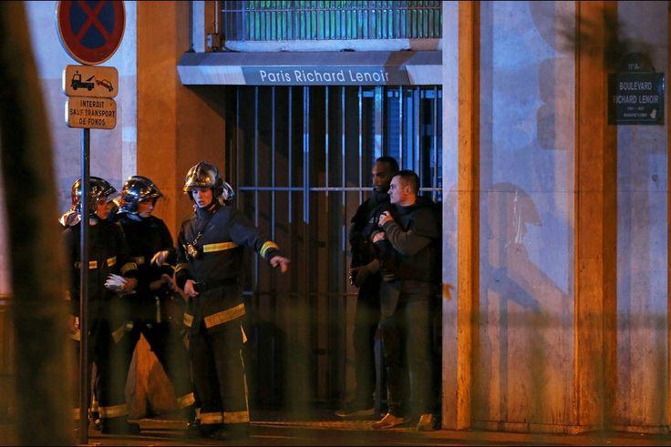 prise d'otages en cours au Bataclan, à Paris. #Paris #Bataclan #attentat #fusillade #priseotages