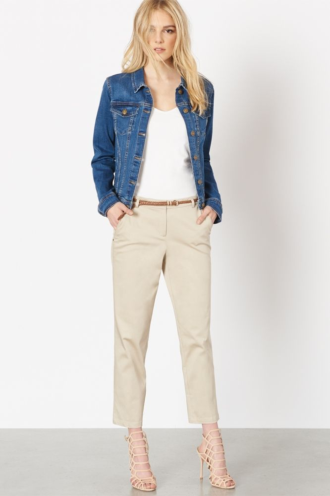 Polished and outfit-making, these belted pants are perfect for elongating those legs and showing off your shoes.