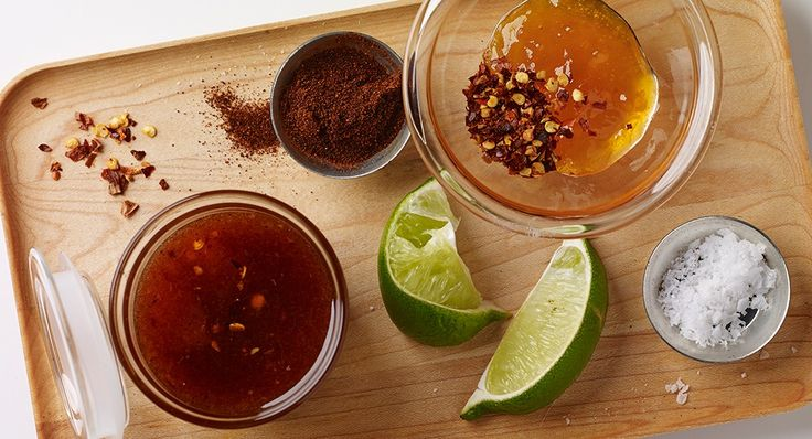 Chamoy sauce. Serves: 10 Serving Size: 2 tablespoons 1 cup apricot jam 1/4 cup fresh lime juice 2 teaspoons McCormick® Red Pepper, Crushed 1 teaspoon McCormick Gourmet™ Chile Pepper, Ancho 1 teaspoon salt