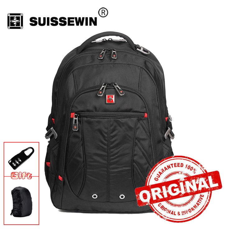 New1680D Swissgear Laptop Backpack Waterproof Business Traveler Backpack Men Daily Backpack rukzak swiss Back Pack SW8110I  EUR 30.11  Meer informatie  http://ift.tt/2yEpNXu #aliexpress