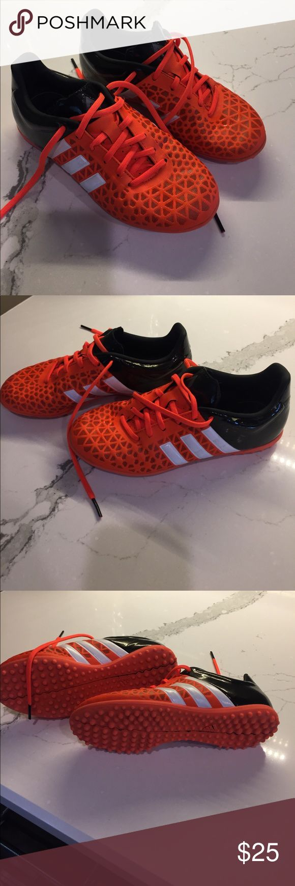 Adidas indoor soccer ⚽️ shoes--worn very little Great condition adidas Shoes