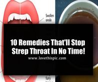 10 Remedies That'll Stop Strep Throat In No Time!