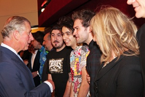 Midnight Beast meets HRH The Prince of Wales #comedy #royalty
