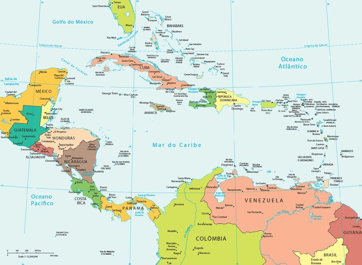 24 best Mapas images on Pinterest Maps Central america and