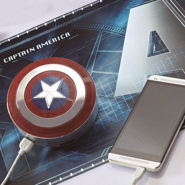 Captain America 2 Mini Bluetooth Speaker - $160
