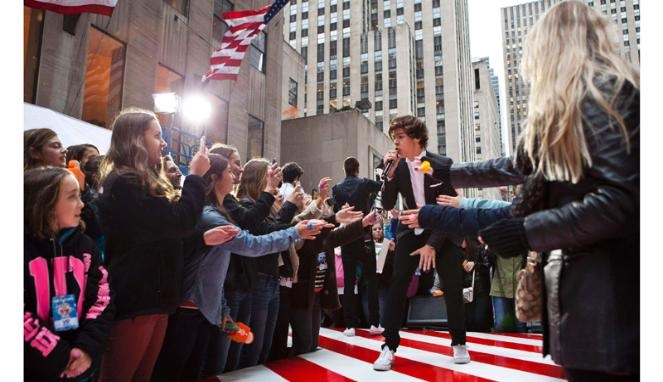 One Direction the excited New York