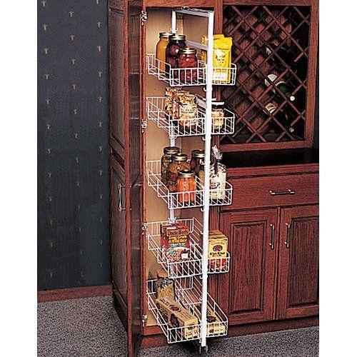 Best Amazon Com Knape Vogt P5450Fe W Pantry Roll Out Full 400 x 300