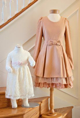 #Tailored #Shabby Chic #Couture for mother & daughter   http://www.cassiesclosetinc.com/