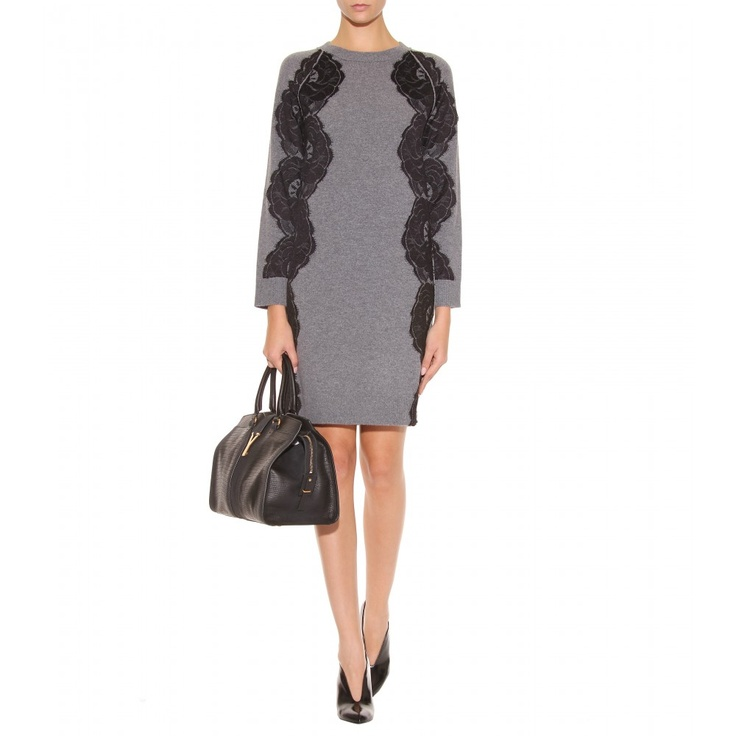 Lanvin Wool Sweater Dress