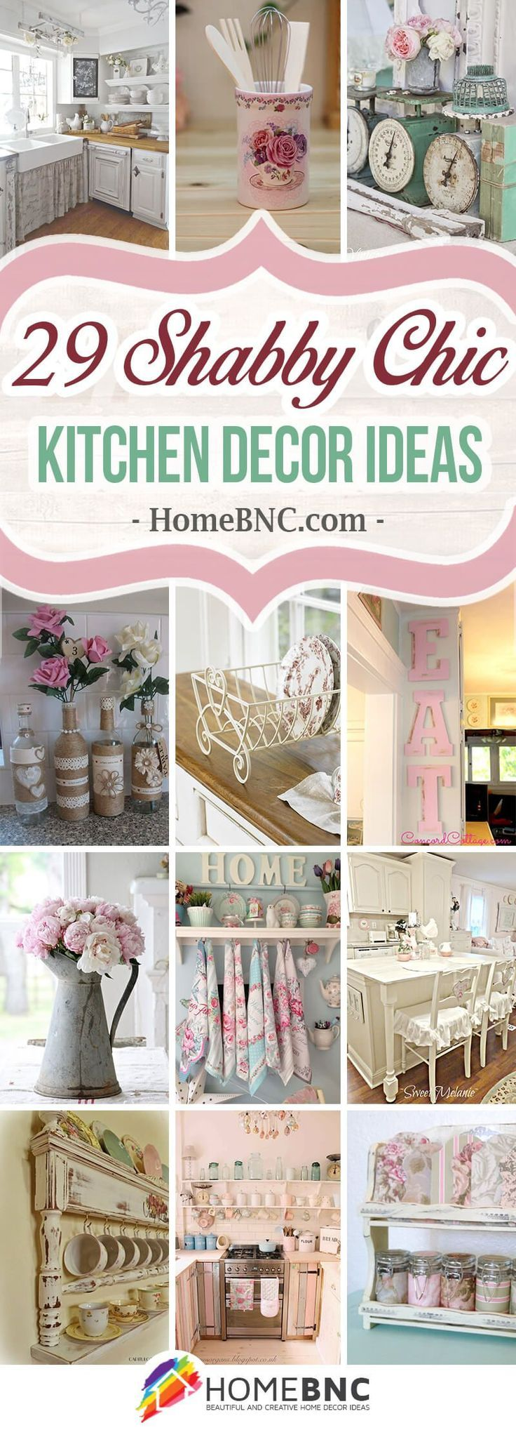 Perfekt 29 Gorgeous Shabby Chic Kitchen Decor Ideas That Are Comfy, Cozy And Sweet