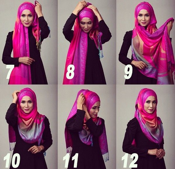Girls Modern Different Niqab Styles