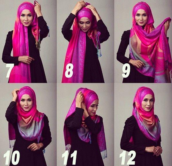 Girls Modern Different Niqab Styles