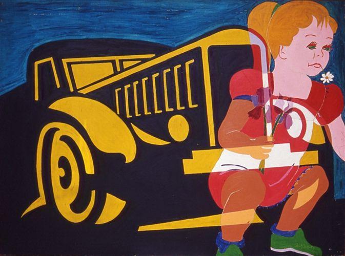 "Alain jacquet ""Camouflage Camion"" 1963"