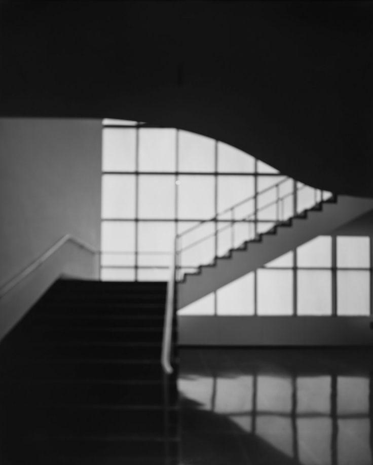 Hiroshi Sugimoto, MoMA, Bauhaus Stairway, 2013. Gelatin-silver print, 149 x 119,5 cm.