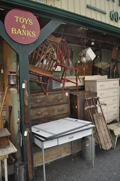 Adamstown, PA: Antiques Capital!