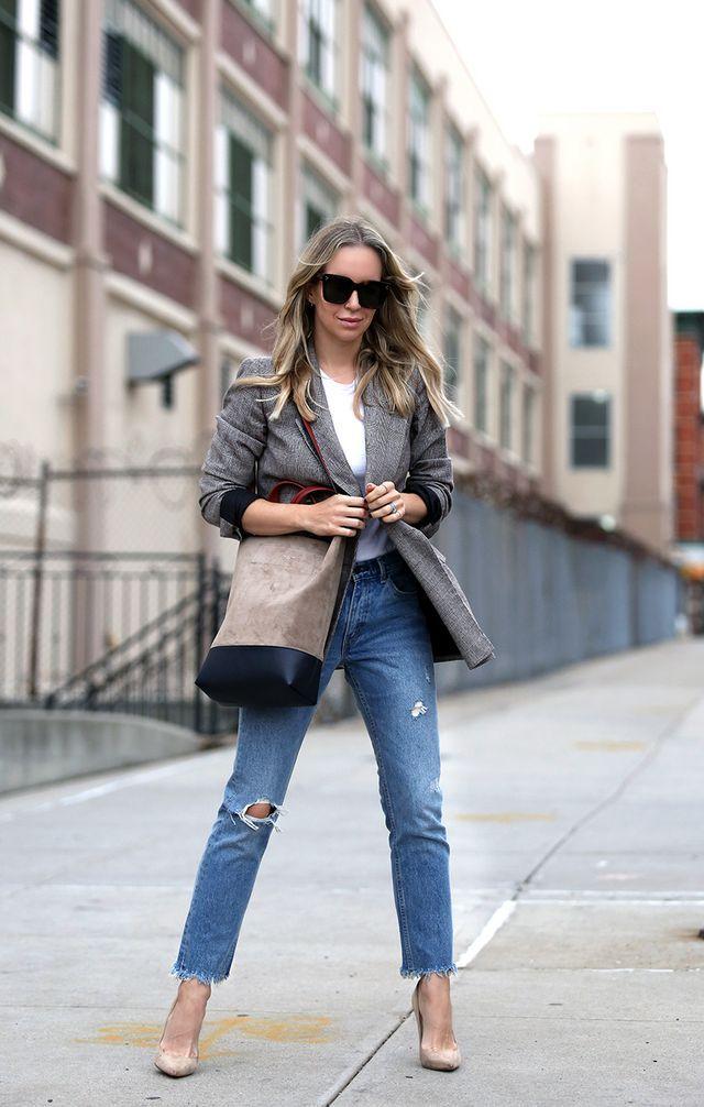 My Favorite Plaid Blazers   Brooklyn Blonde   Bloglovin'