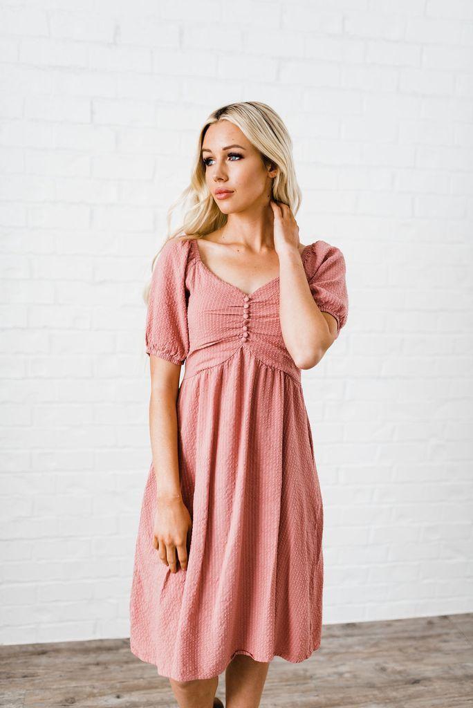 5ea3fa77deeec Kilee Dress in 2019 | My Dream Style | Dresses, Mauve dress, Dusty ...