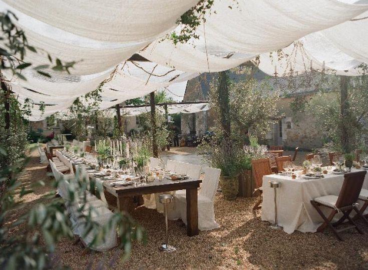 Garden Wedding / Jeri Ryan & Christophe Eme / Wedding Style Inspiration / LANE For more inspiration: Instagram: @the_lane Facebook: http://facebook.com/thelane Newsletter: http://thelane.com/newsletter