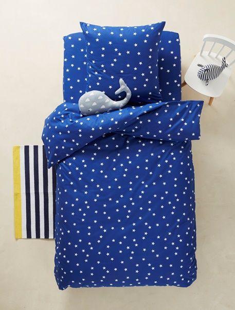 Les 25 meilleures id es de la cat gorie couette bleue - Housse de couette bleu marine ...