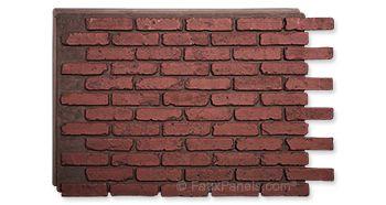Faux Brick Panels and Siding | Shop Brick Veneer Styles
