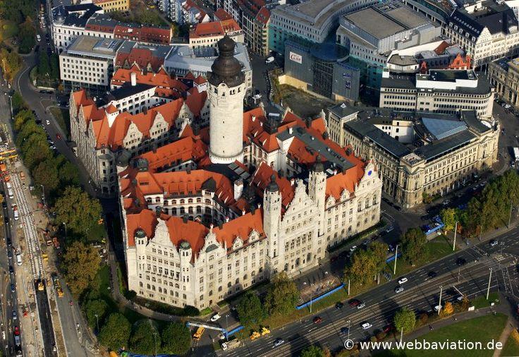 Neue Rathaus Leipzig db77862