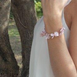 Bracelets de mariées - Fleurs Mariage - Fleurs d'un Nouveau Monde - Fleurs d'un Nouveau Monde