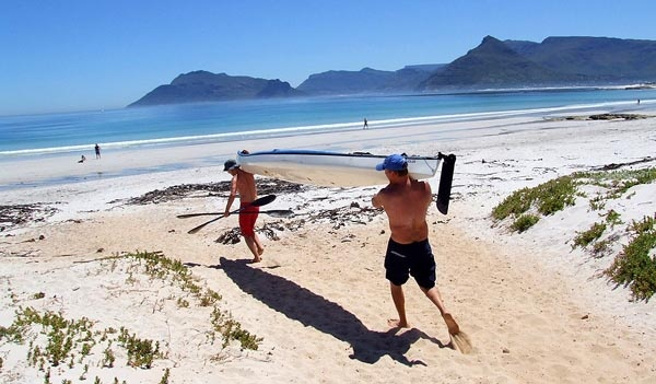 The beach at Kommetjie, Cape Town, South Africa