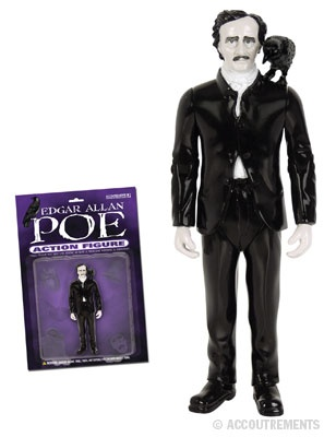 Poe action figure with removable raven.