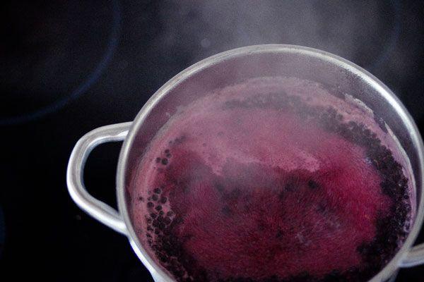 Holunder Schnaps - Zubereitung