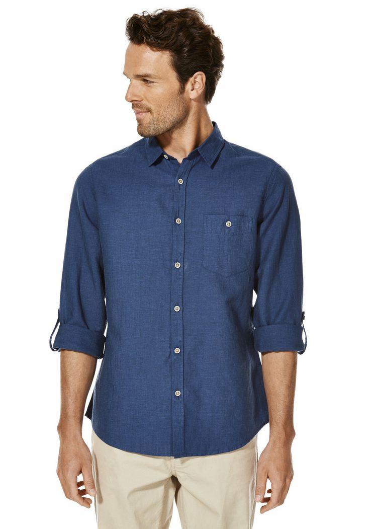 F&F Linen Contemporary Fit Shirt   Tesco
