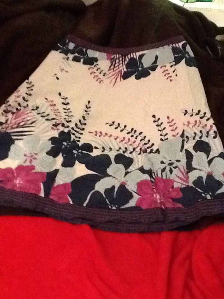 Floral Monsoon Skirt Size 14