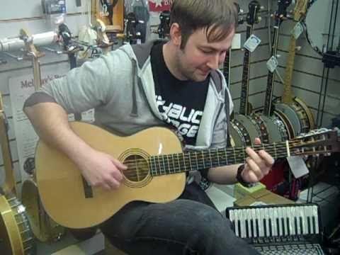 Tony plays the Blueridge BR 341 Parlour Guitar at Hobgoblin Music Birmin...