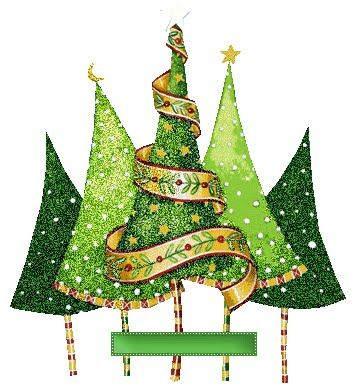 Lots of Christmas tree decorating ideas.