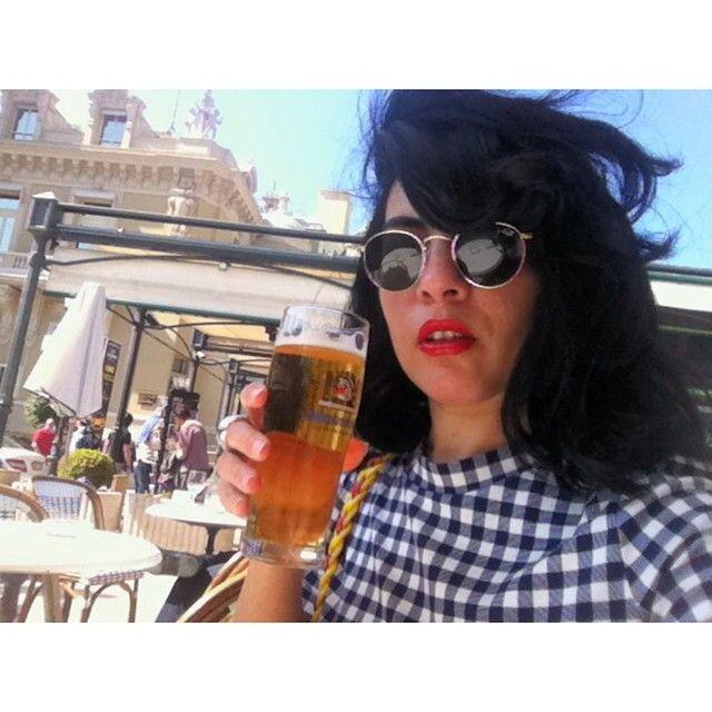 #Casino #tbt#selfiemadegirl#cool#love #montecarlo#monaco#beauty #nice#france#cafedeparis#relax #easy#friends#peace#lookbook #lifestyle#stylish#beer#birra#enjoyLove This beer ... His Name ; #Weihenstephan  from #Montecarlo #Monaco