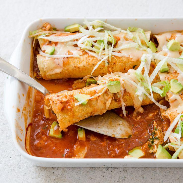 Chicken Enchiladas With Red Chile Sauce America S Test Kitchen