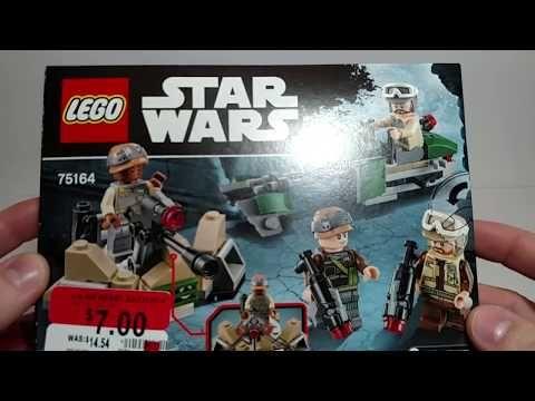 (80) Lego Clearance Walmart Haul - Lego Star Wars - YouTube