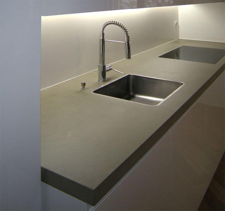 14 besten Küchen Bilder auf Pinterest Betonküche, Arquitetura - k chenarbeitsplatten aus beton