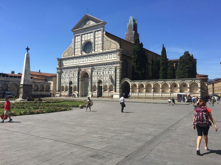 Piazza Santa Maria Novella, Firenze, Italia.