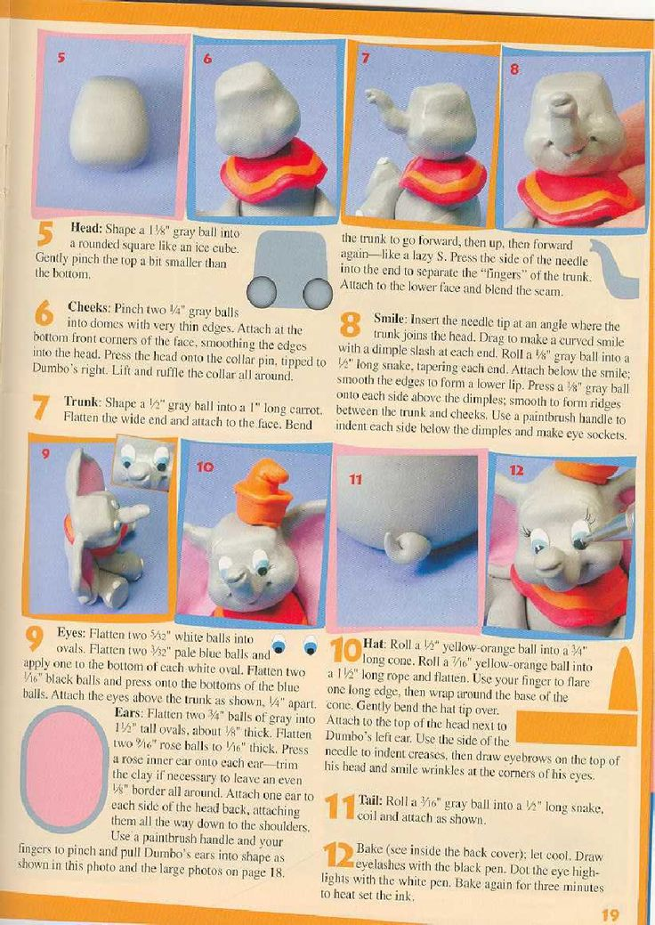 Disney Character Collection Polymer Clay   Scribd