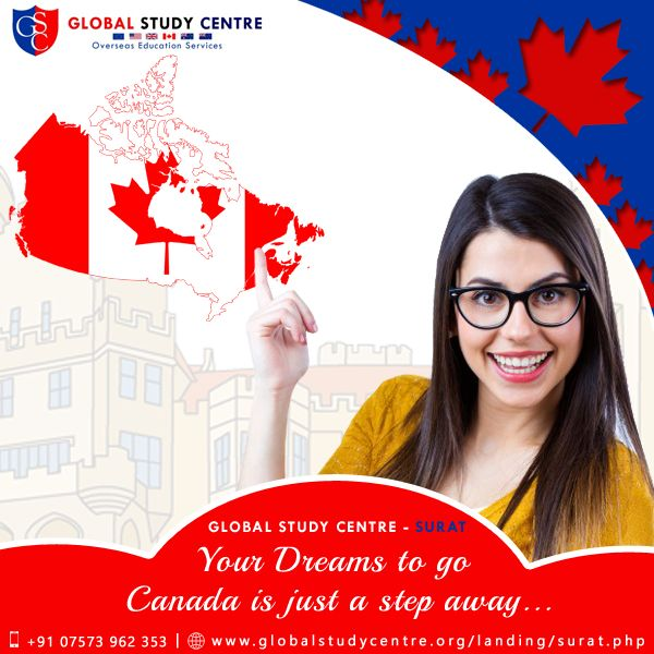 Whilst you are planning to move to Canada, then you must get yourself registered at #GlobalStudyCentre which is a premier #CanadaImmigrationConsultant in #Surat. It will guide you all along and help you in achieving your dream. http://www.globalstudycentre.org/landing/surat.php