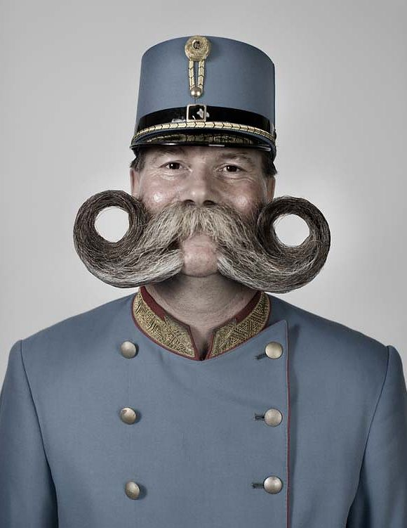 how to draw a handlebar mustache