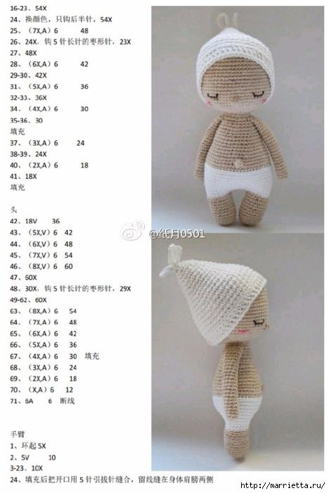 379 best Patrones Amigurumi images on Pinterest | Crochet animals ...