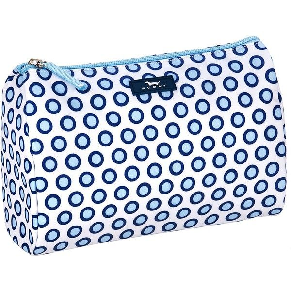 Amazon.com: SCOUT Packin' Heat Cosmetic Bag, Compass Rose: Shoes (455 HNL) ❤ liked on Polyvore featuring beauty products, beauty accessories, bags & cases, toiletry bag, travel bag, makeup purse, travel toiletry case and purse makeup bag