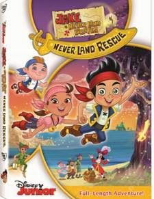 Silkki's Reviews: Jake and the Neverland Pirates Never Land Rescue