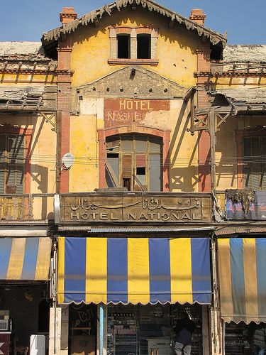 Old National Hotel in Port Said