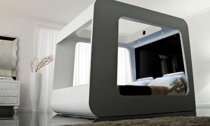Camera da letto contemporanea