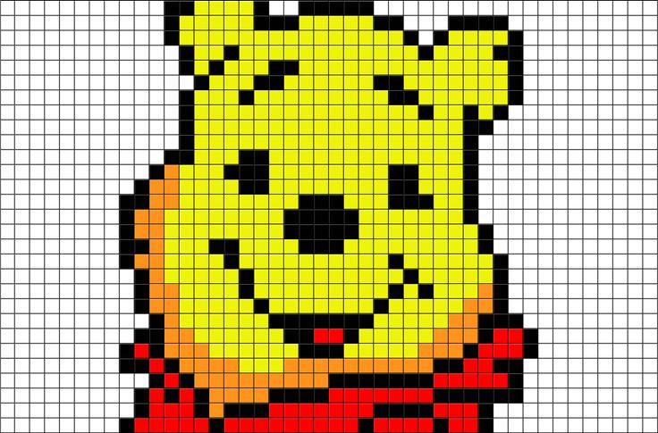 Winnie The Pooh Pixel Art