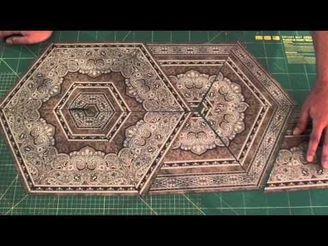 Centro de Mesa com Tecido de Borda - YouTube  Marinaldo Ferreira